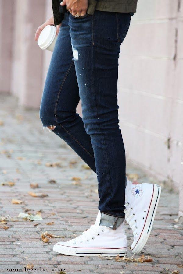 what shoes go best with skinny jeans