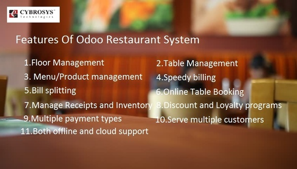 What are the best ERP systems for the restaurant industry