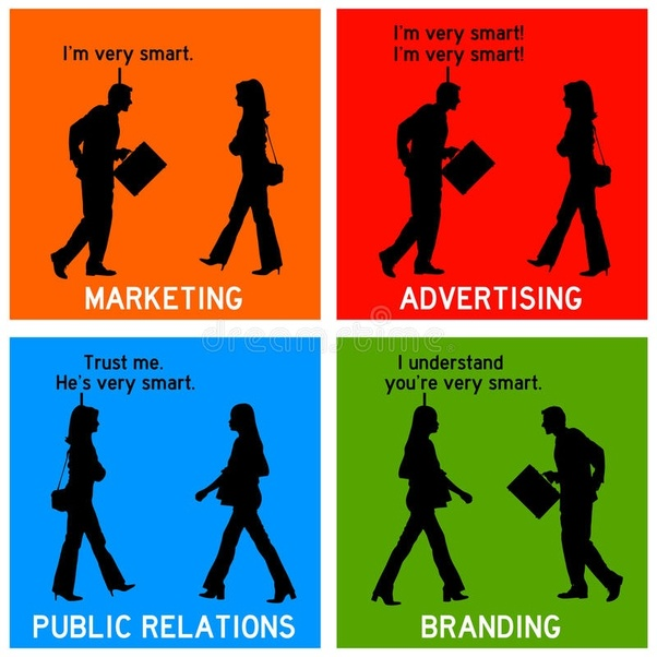 public relations and advertising similarities