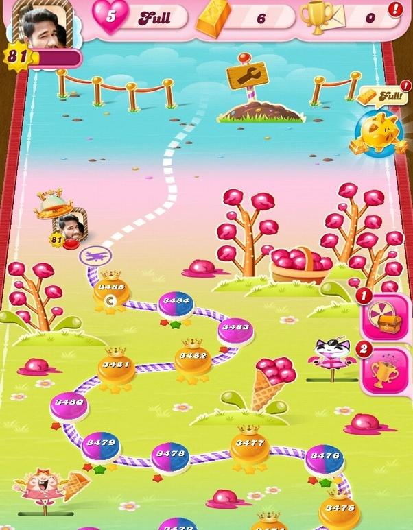 candy crush saga 2010