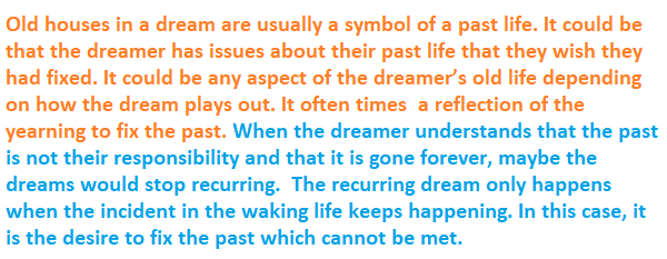 What Is The Meaning Of Dreaming About Old Houses Quora