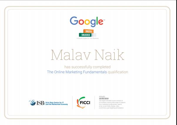 Is Google Digital Unlocked certification useful? - Quora