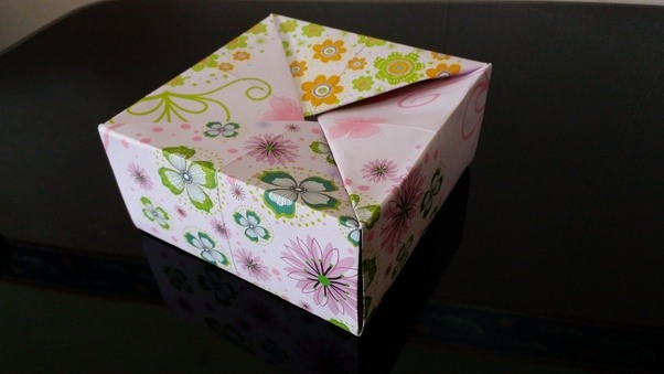 What are the most useful origami samples for practical use and this is my personal favourite among all the different types of origami boxes which exist because only require one piece of paper to make a box together with mightylinksfo