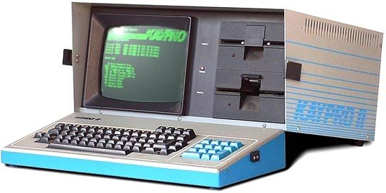 Figure A Kaypro II Just Like Mine At Home One Of The First Portable Computers With Two 525 Floppy Drives Computer Is Able To Store Almost An
