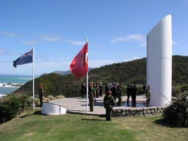 Image result for The Common Memorial of Three Countries: New Zealand, Australia and Turkey
