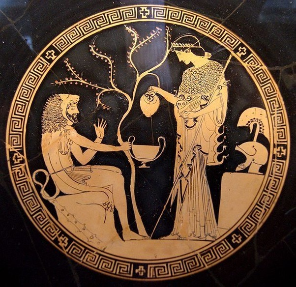 What Role Does Pallas Athena Play In The Greek Mythology Quora