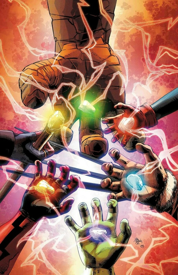 What happened to the Infinity Gauntlet after Thanos snapped his