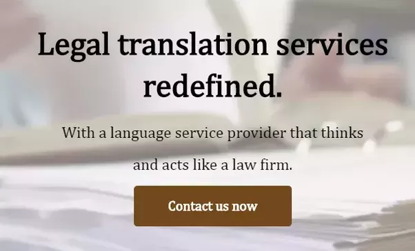 experts always recommend to go for certified legal translators in order to translate any important document or any document which are required for