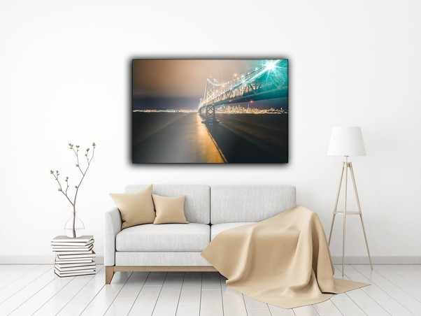What are some interesting art works to decorate large living room ...
