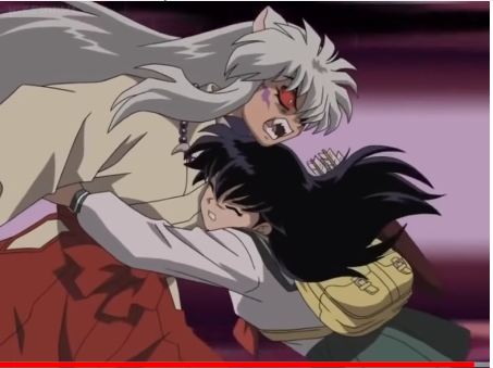 Does any one get sick of Kagome's triangle - Inuyasha ...