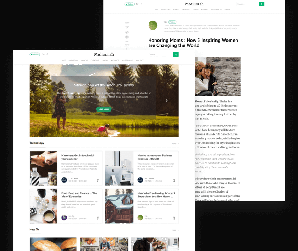 Is there a Blogger theme that looks like Medium? - Quora