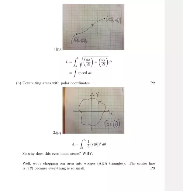 Does anybody use latex to take notes especially during class if calc 3 ccuart Gallery