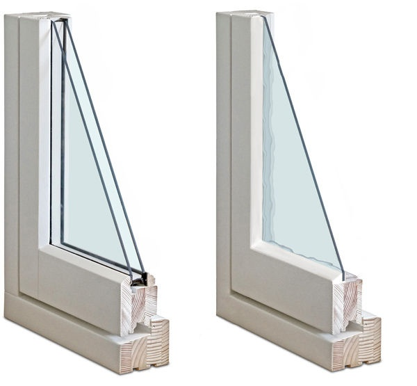 Double Glazed Windows : How to tell if my window is double glazed or single