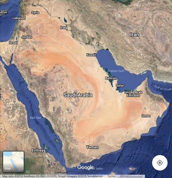 Where is Saudi Arabia situated in? - Quora