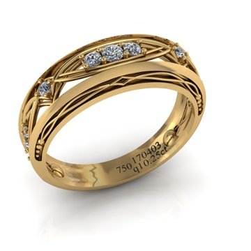 What do numbers mean on jewelry? - Quora