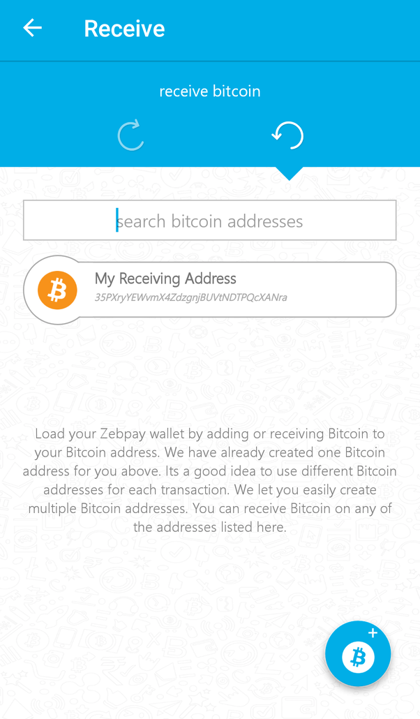 Can i transfer bitcoin coinbase to zebpay quora you can see your assigned address ccuart Gallery