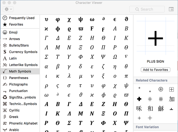 How To Insert Greek Symbols Like Alpha Or Beta In Word 2016 For Mac