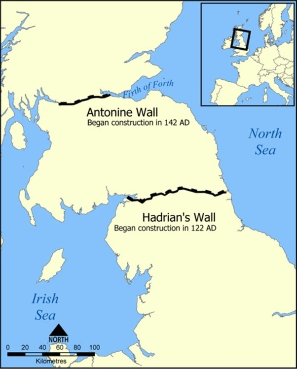 Do any other civilizations construct great wall border to resist the best known example is hadrians wall in northern england just a little shy of the modern border with scotland slightly less well known is the antonine gumiabroncs Gallery