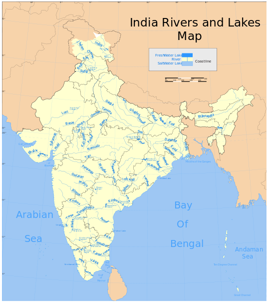 the most densely populated state in india