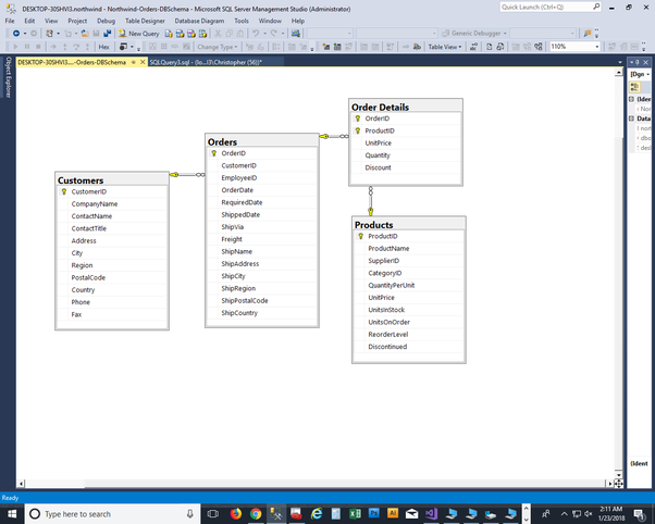 How to convert a database schema table or sql code to an er then you can name your database diagram when you save it ccuart Gallery