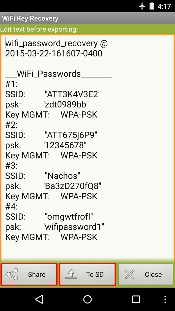How can one get a WiFi password using an IP address in an
