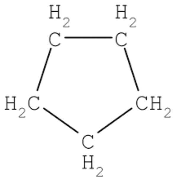 What is the name and structure of a saturated compound in ... H2 Structural Formula