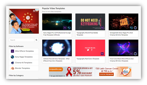 Where Should I Download The Best Aftereffect Templates Quora - Awesome after effects website template design