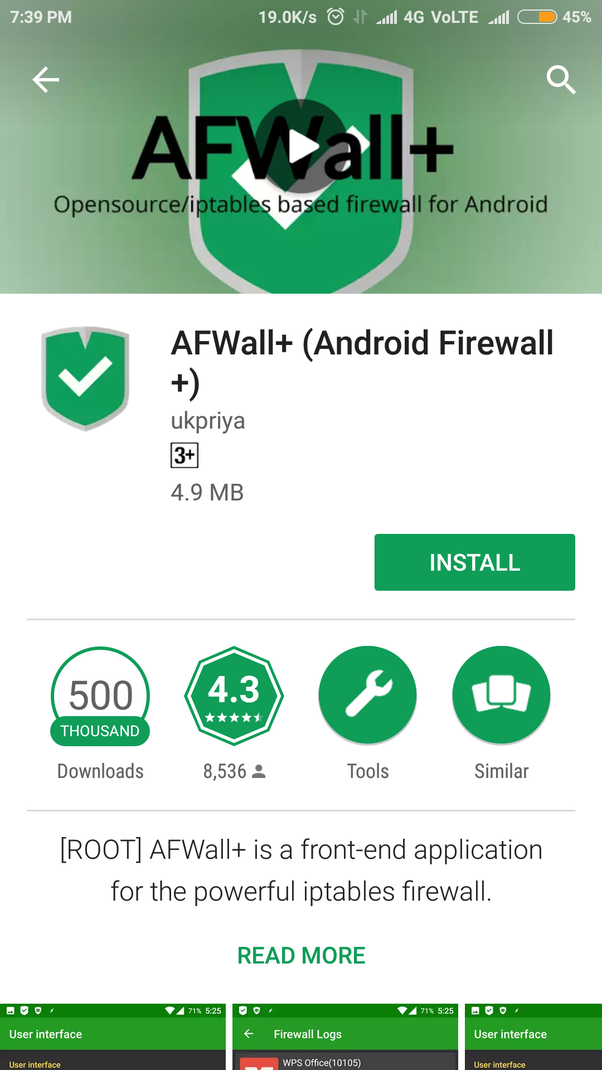Which are the best free, firewall Android apps? - Quora
