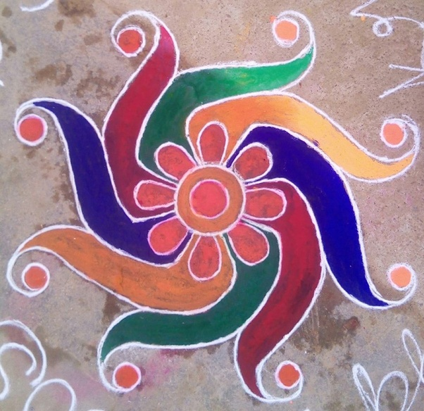 Happy New Year Best Rangoli 85