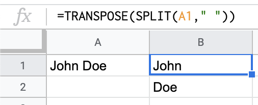 How to split a cell horizontally in a Google Sheet - Quora