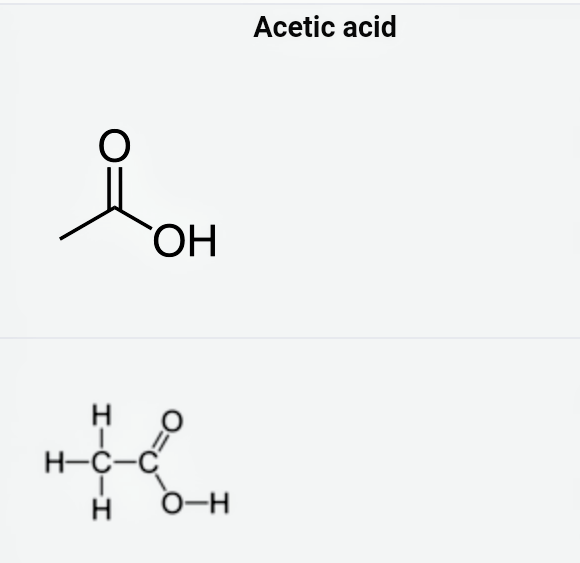 What Is An Ethanoic Acid Quora