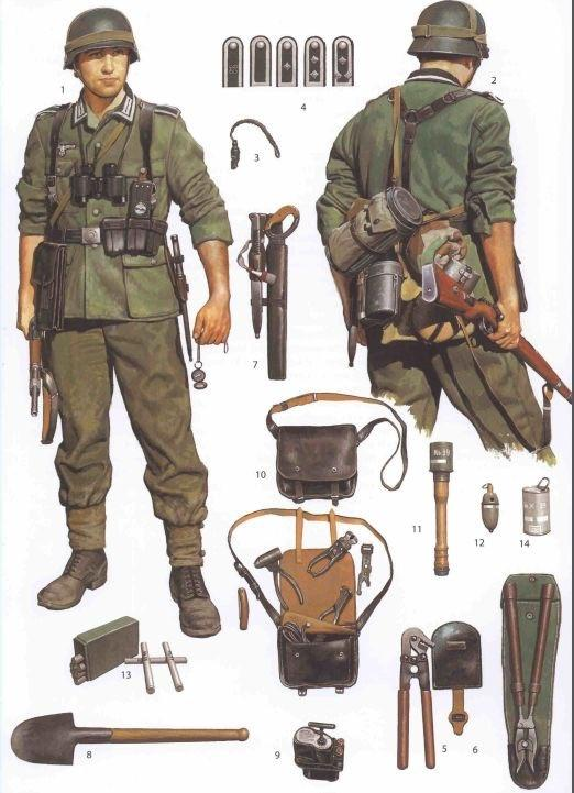 Did World War II German soldiers learn a certain martial ...