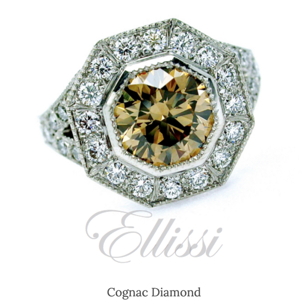 Why Are So Called Cognac Diamonds Cheaper Than Clear Diamonds Cognac Diamonds Are Still Actually Real Diamonds Aren T They Quora