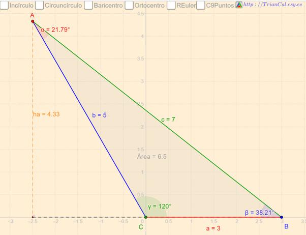 Cómo puedo encontrar el área de un triángulo escaleno? - Quora