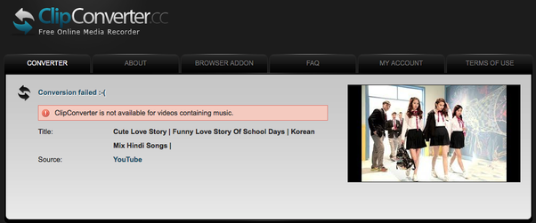 From what website can we download Korean music videos for