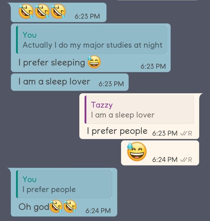 Examples of flirting texts