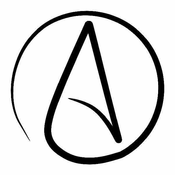 Who Chose That Sinister A Symbol For Atheism It May As Well Be