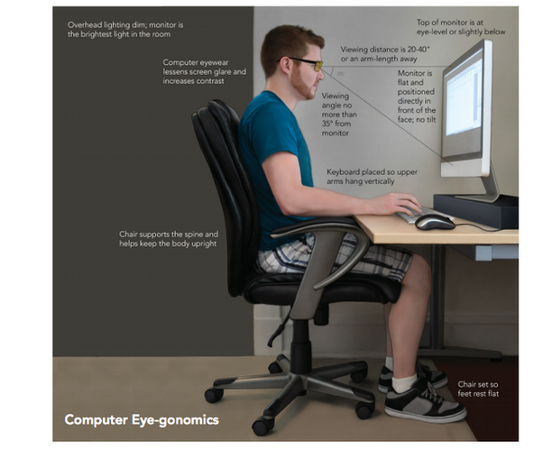 Follow Guidelines For Good Posture