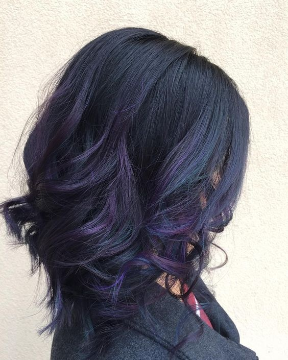 If you have dark brown hair can you dye your hair purple ...