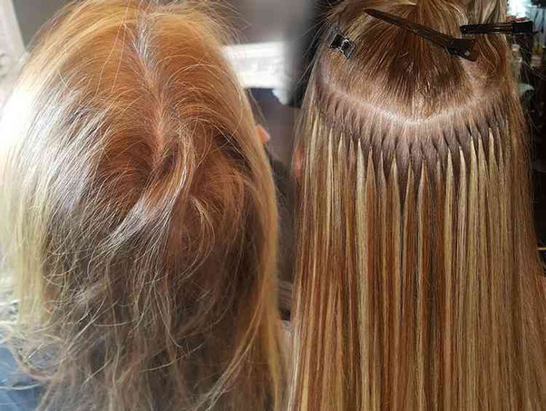 What Is The Best Type Of Hair Extensions For Thin Hair Quora