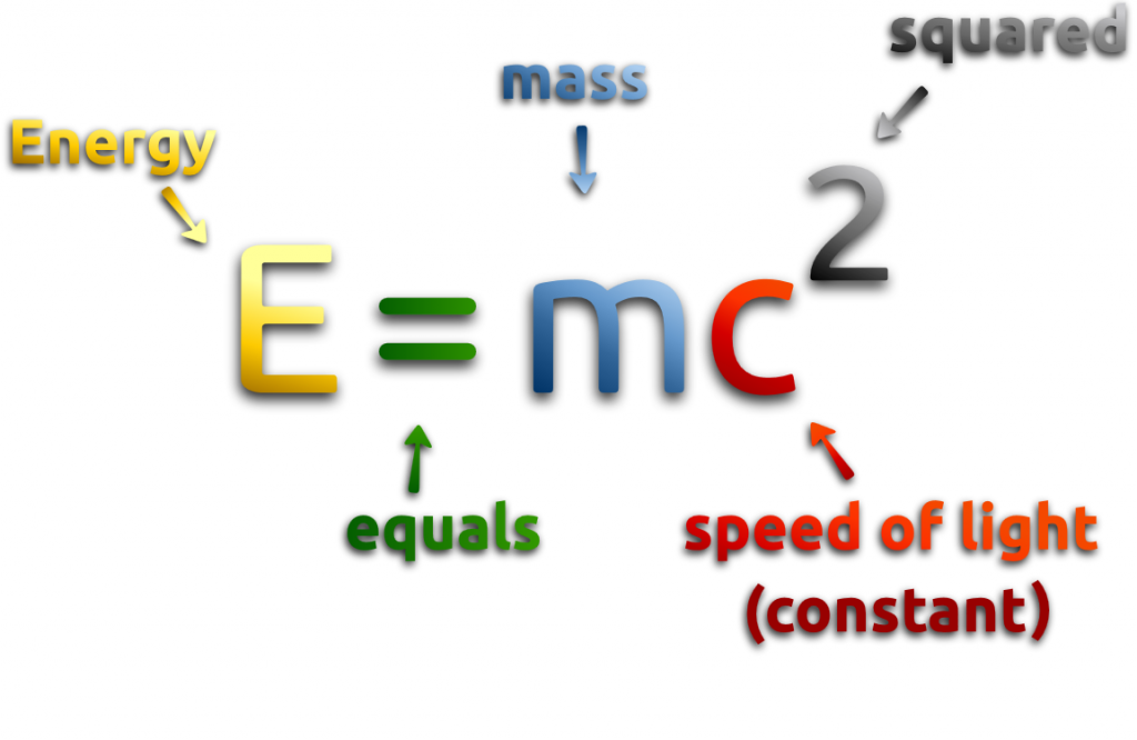How Could It Be Possible To Ly Math E Mc 2 Dark Energy Matter If C Is Related Light Quora