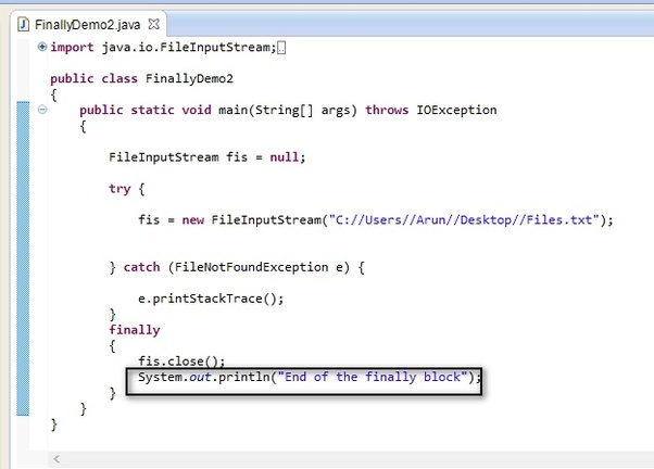 final keyword in java with realtime example