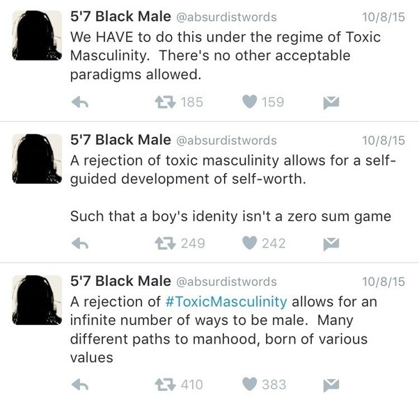 Is there such thing as 'toxic masculinity'? What is it ...