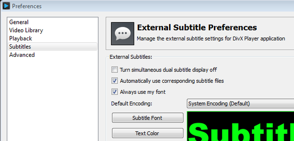 How i add subtitles to vlc video files permanently quora so if you have a video called myvideoavi then you should name your subtitle file myvideot and divx player will automatically display it so you dont ccuart Image collections