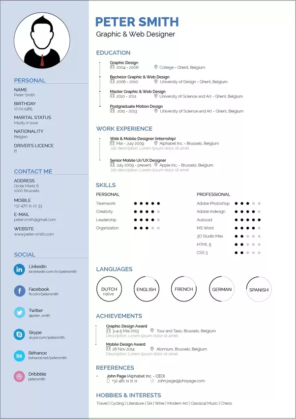 how to make best resume