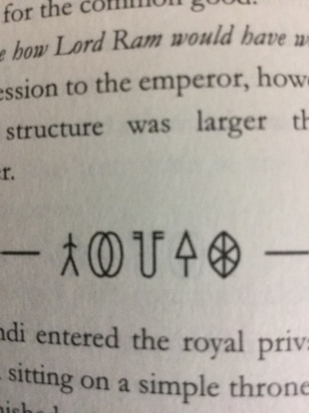 What Is The Meaning Of Symbols Used In The Book Imortals Of Meluha
