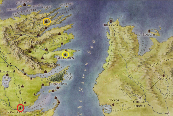 Game of thrones season 4 episode 3 breaker of chains how has from the known world map of the lands of ice and fire gumiabroncs Gallery