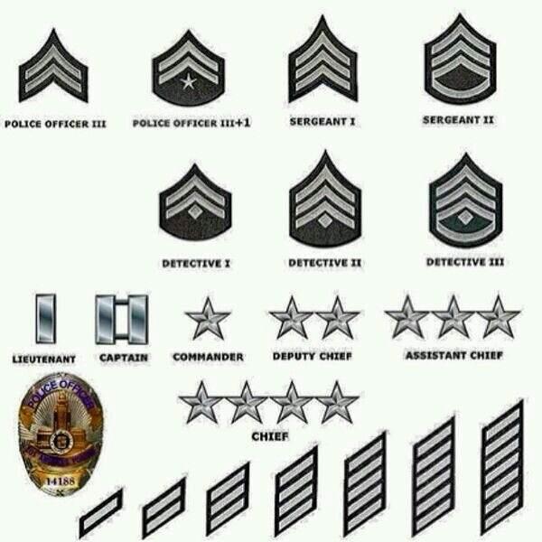 How Do Police Ranks Work?