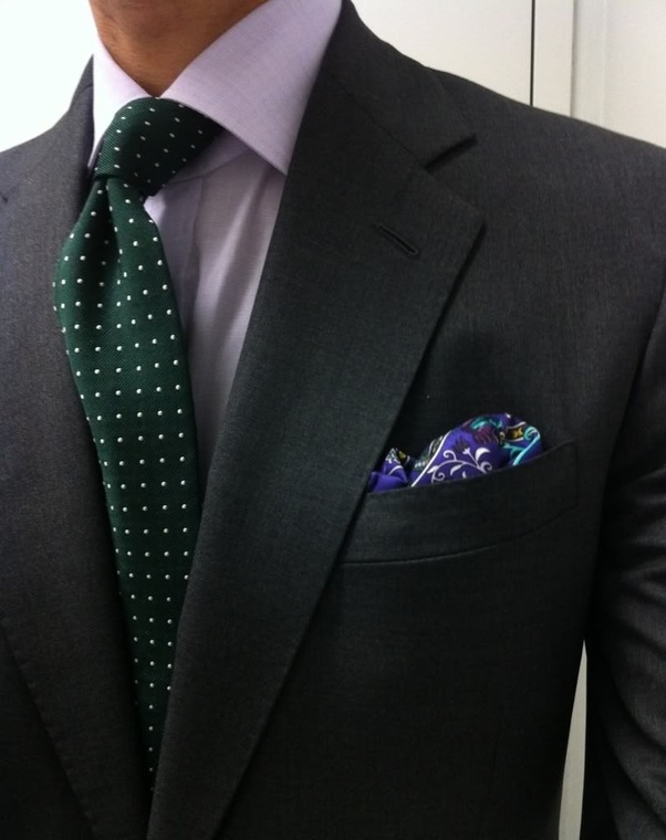 What Color Tie Should I Wear With A Charcoal Suit Quora