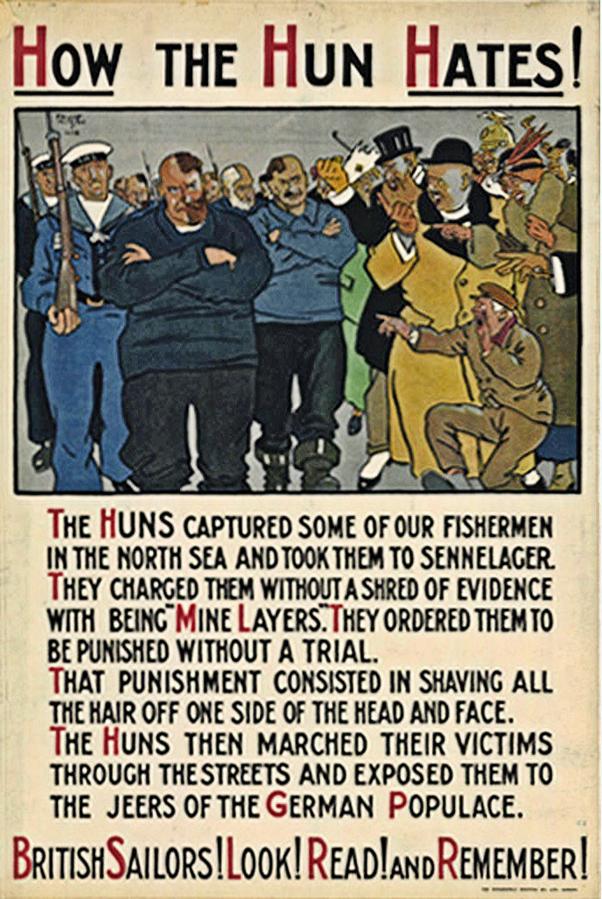 How was propaganda used in WWI? - Quora